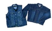 Jeansjacket /-vest