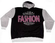 "Hooded T-Shirt ""Global Fashion"""
