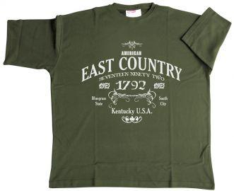 T-Shirt Kentucky armygreen 6XL