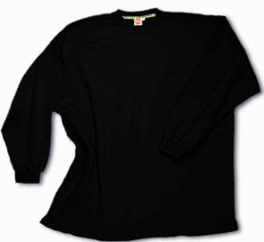Box-Shaped Sweatshirt black 10XL