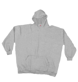 Hooded Sweaty with waistband grey