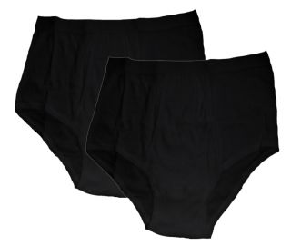 HONEYMOON Panties black TwinPac 3XL
