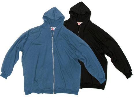 Hooded Sweatjacket Doublepack