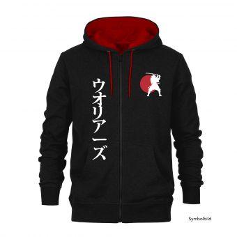 "Hooded Sweat Jacket ""Samurai"""