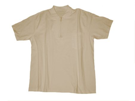 Polo T-shirt with Chest Pocket sand