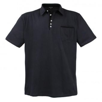 Lavecchia basic polo shirt in anthracite
