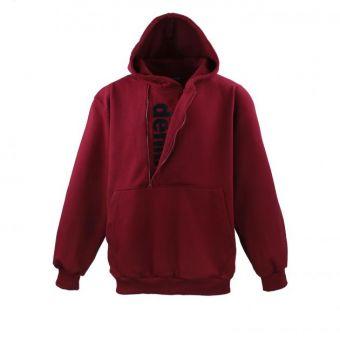 Lavecchia hooded sweatshirt in bordeaux