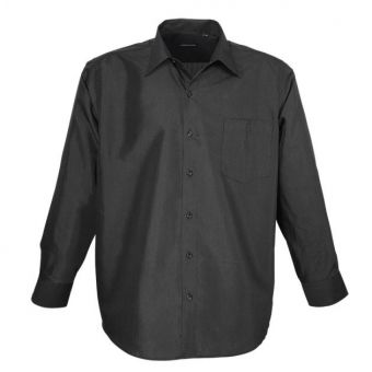 Lavecchia long sleeve shirt in black