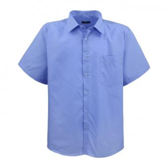 Lavecchia short sleeve shirt blue