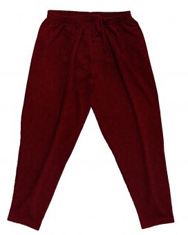 Jogging Trousers bordeaux melange