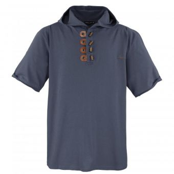 Lavecchia Hooded T-Shirt in dark-grey
