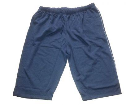 7/8 Bermuda Shorts steelgrey with grey Piping