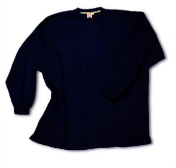 Box-Shaped Sweatshirt navyblue