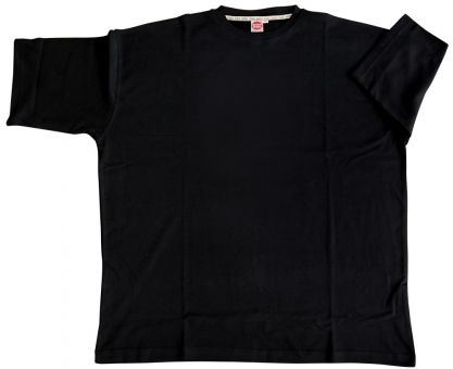T-Shirt Basic black 15XL