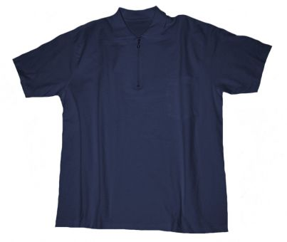 Polo T-shirt with Chest Pocket navyblue
