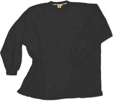 Box-Shaped Sweatshirt antracite