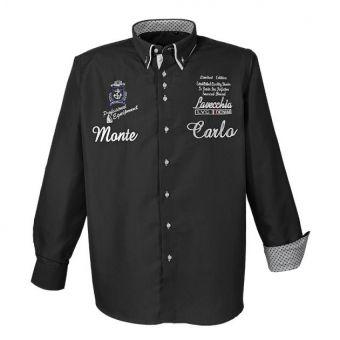 Lavecchia Fashion long sleeve shirt in black
