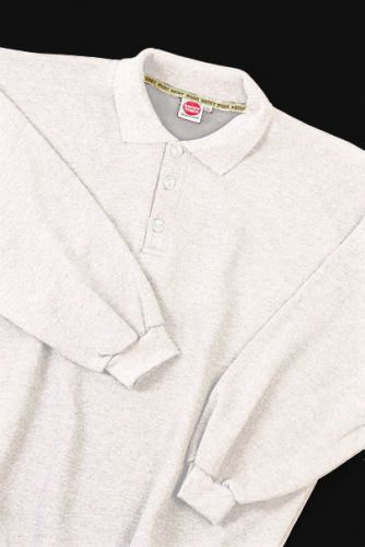 Polo Sweatshirt white