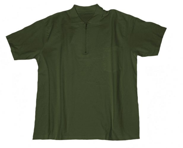 Polo T-shirt with Chest Pocket armygreen