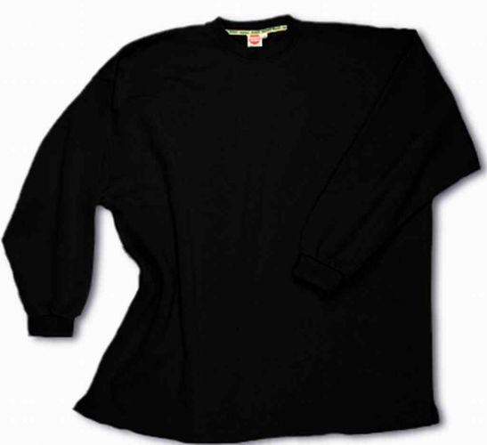 Box-Shaped Sweatshirt black