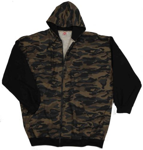 Hooded Sweatjacket Camouflage 3XL