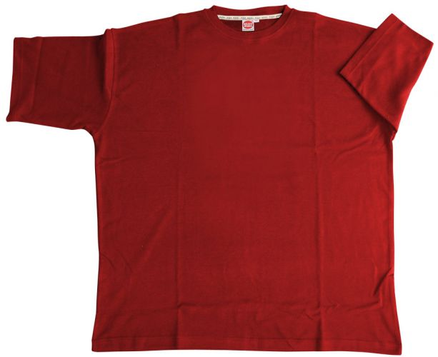 T-Shirt Basic red 4XL