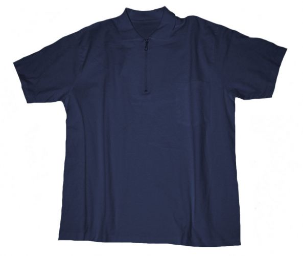 Polo T-shirt with Chest Pocket navyblue 3XL