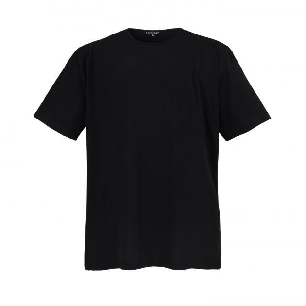 Lavecchia Basic T-Shirt in black  fcb90ce576